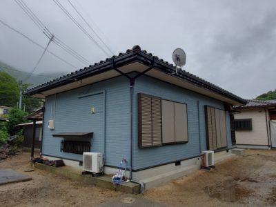 上関町・室津 八幡宮大歳社近く 木造平屋建2棟